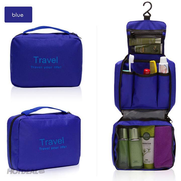 Túi Travel đựng mỹ phẩm du lịch treo được 1