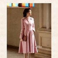 Áo dạ hồng