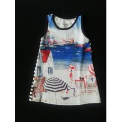 Đầm thun in 3D đi biển hay dạo phố