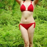 Bikini len móc thủ công - Handmade