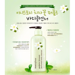 INNISFREE Sữa Tắm dưỡng trắng đều màu da Gardenia Perfumed Body