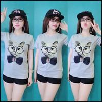 Hàng loại 1: Áo pull tay con họa tiết Mèo đeo kính