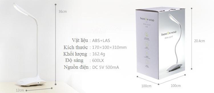 Đèn bàn cảm ứng chống cận Rinos Desklight RN3000