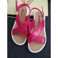 Giày sandals nhựa quai chéo SDQN35