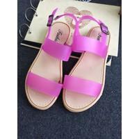 Giày sandals quai ngang nhựa SDQN34