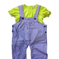 Bodysuit yếm + áo thun BS067