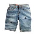 Quần Short Nam Jeans Rách MSP16 Bạc
