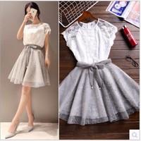Set áo và chân váy Hongkong YW537