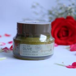 Kem dưỡng da Olive Essential Cream TheFaceShop