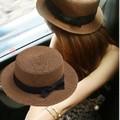 mũ nón  cói rộng vành  thời trang Hàn Quốc