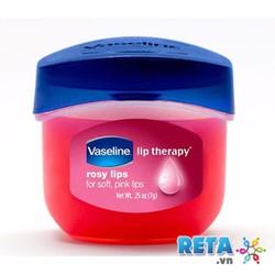 Vaseline Lip Therapy Rosy 7gr - Son dưỡng trị thâm môi sau 7 ngày