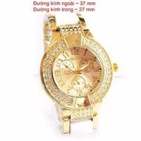 Đồng hồ Geneva dây trắng