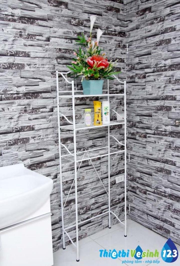 Kệ Toilet - Giá để đồ  tầng Neu Home BA8006 3