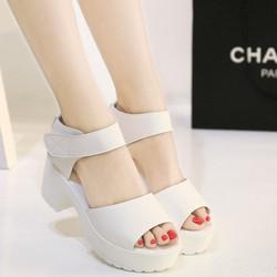 Giày sandal cao gót thời trang phong cách Hàn Quốc - SG0082
