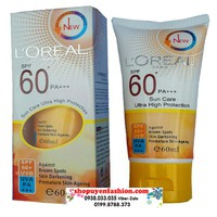 Kem chống nắng LOREAL SPF 60 cao cấp-MP006