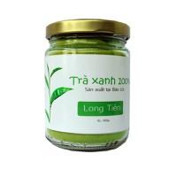 Bột trà xanh chống lão hóa sản xuất tại Bảo lộc 100g LONG TIÊN