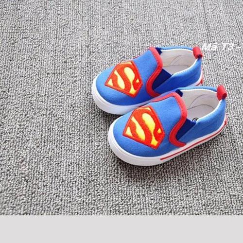 Giày lười superman cho bé trai 1-4 tuổi