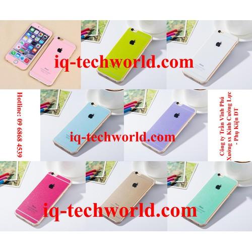 Kính Cường Lực Sắc Màu Ánh Kim Tuyến iPhone 6 Plus iphone 6s plus