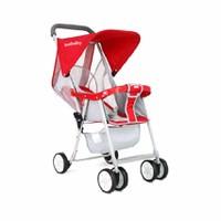 Xe đẩy trẻ em siêu nhẹ SeeBaby QQ2 Đỏ
