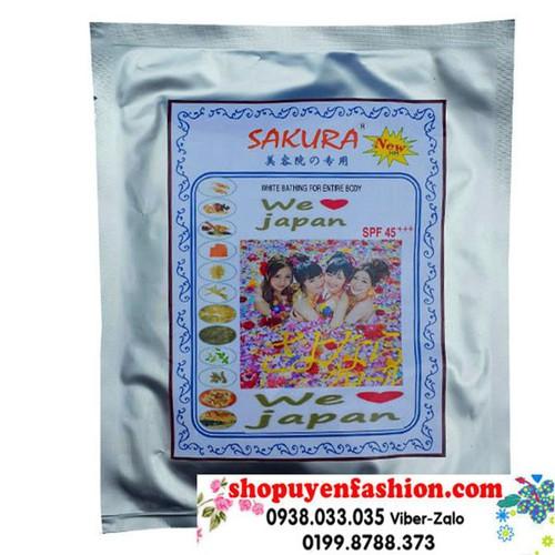 SAKURA-Kem siêu trắng da bằng thuốc bắc SAKURA nhật bản-MP004