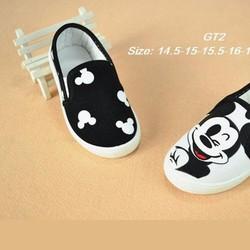 Giày lười Mickey cho bé trai từ 2-5 tuổi GT2