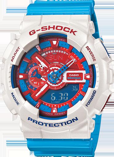 dong ho casio g shock mau doremon 1m4G3 d1de17 Sử dụng đồng hồ G Shock để bạn thêm phần ấn tượng
