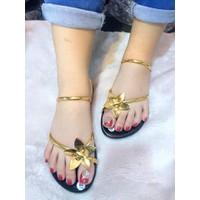 HÀNG LOẠI I - Giày sandal bông hoa nữ
