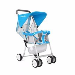 Xe đẩy trẻ em siêu nhẹ SeeBaby QQ2 xanh
