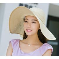 Nón cói rộng vành đi biển Loại 1 thời trang Hàn Quốc L1231