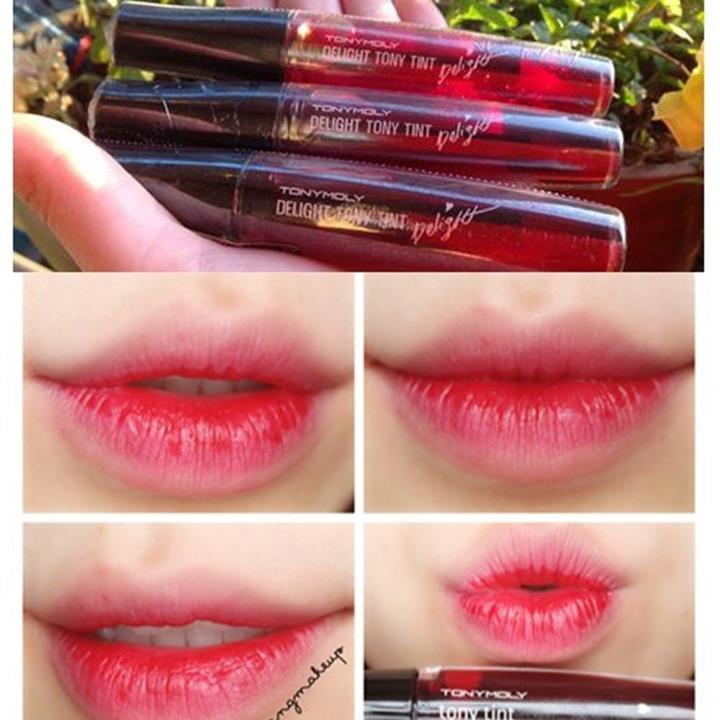 son tonymoly delight tint in 01 1m4G3 4389b6 Màu sắc son môi nyx đang được ưa chuộng số 1 hè 2015
