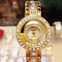 Đồng hồ Cartier đá chạy sang trọng