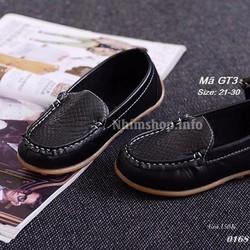Giày mọi cho bé trai 1-6 tuổi GT3