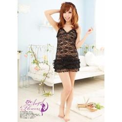 Váy Đẹp Giá Rẽ Hoa Đuôi Tầng - MS140