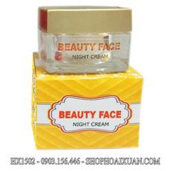 Kem dưỡng da mặt trị nám ban đêm Beauty Face - HX1502