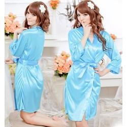 Đầm Ngủ Dễ Thương Lụa Tay Lửng - MS39