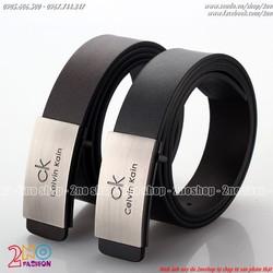 Thắt lưng thời trang nam dùng hai mặt đen và nâu - Mã số: TL1525