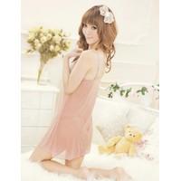 Váy Ngủ Gợi Cảm Kem Ren Sexy - MS64