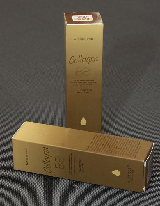 Kem nền BB collagen Mayfiece 5