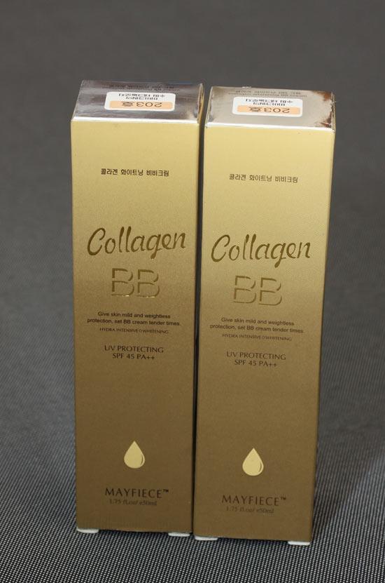 Kem nền BB collagen Mayfiece 7