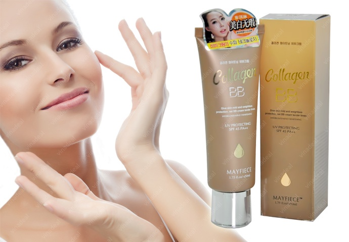 Kem nền BB collagen Mayfiece 1