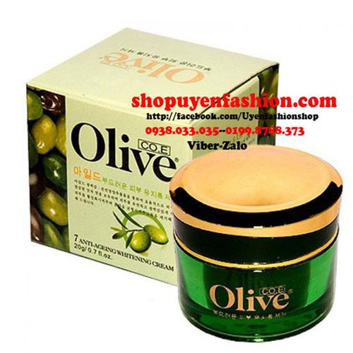 Kem dưỡng trị nám tàn nhang trắng da OLIVE Hàn Quốc-MP007
