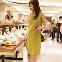 Đầm suông cực cute năng động túi xéo kiểu lạ có thể mặt bất kỳ nơi nào