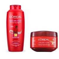 Bộ chăm sóc tóc nhuộm LOréal Color Vive Protecting gội 330ml + ủ 200ml