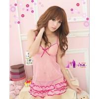 Váy Ngủ Siêu Mỏng Ren Thun Gợi Cảm - MS264
