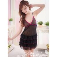Váy Ngủ Siêu Mỏng Ren Tầng - MS301