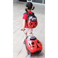 Combo vali kéo và balo nhân vật, hình thú độc đáo