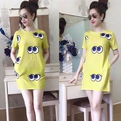 Đầm suông Shy girl - 1420