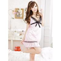 Váy Ngủ Sexy Lụa Hồng - MS385