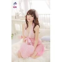 Đầm Ngủ Cột Nơ Kèm Quần BY5005