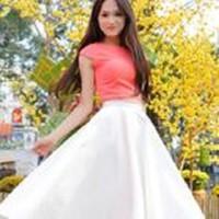 Chân váy xòe Hương Giang V022